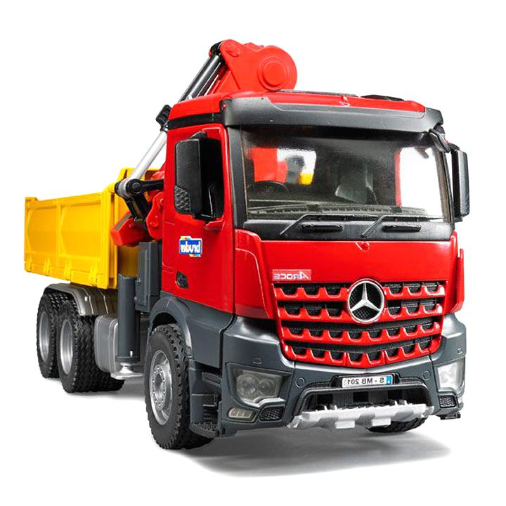camion grue mercedes d'occasion