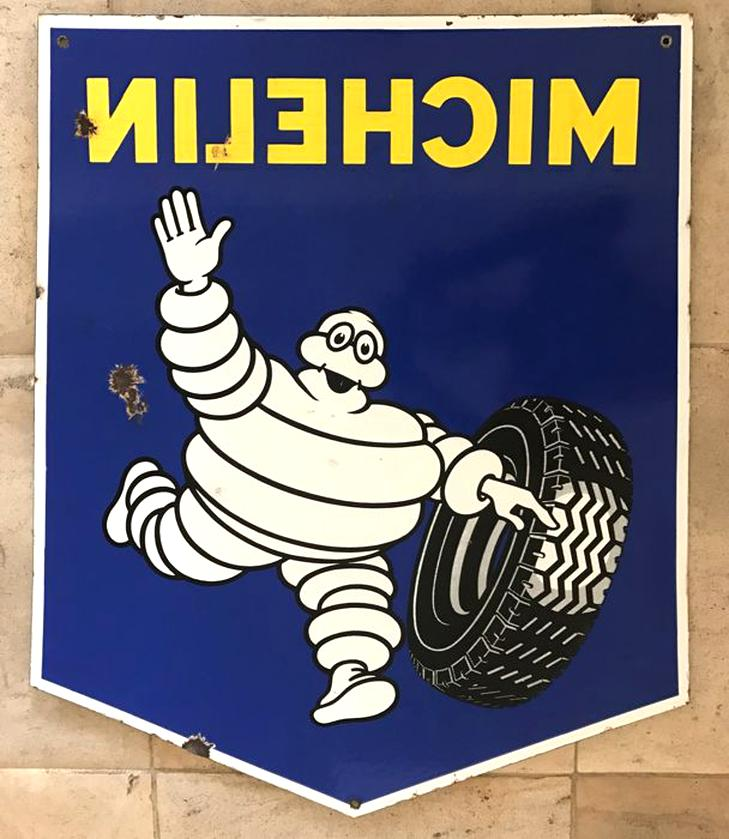 plaque emaillee ancienne michelin d'occasion