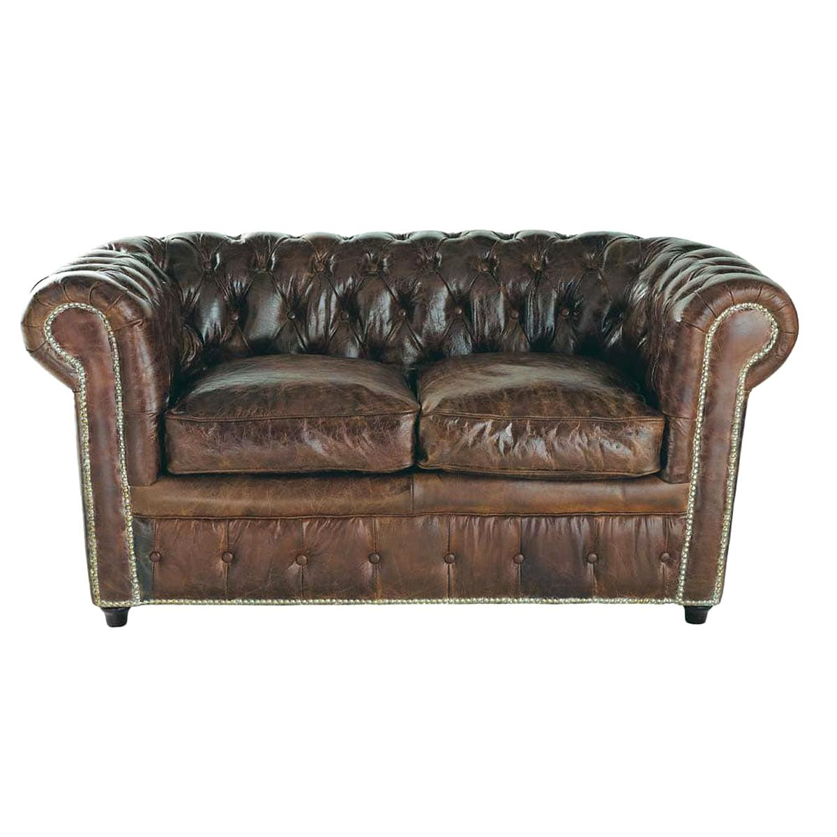 Canape Chesterfield 2 Places