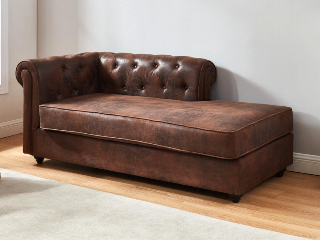 Meridienne Chesterfield
