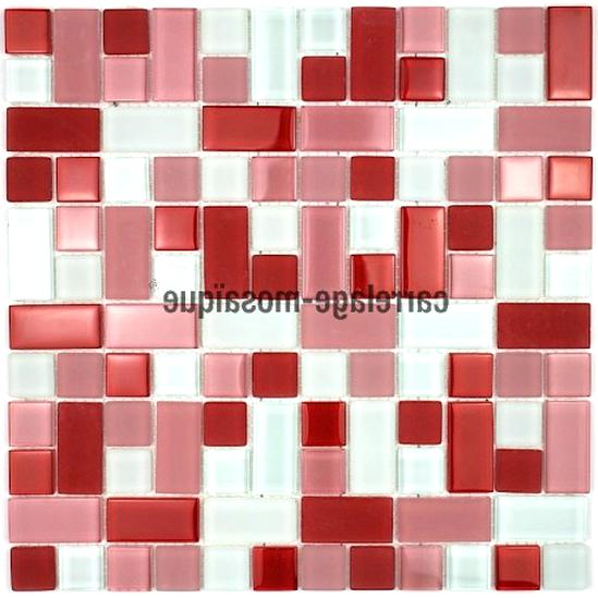 Carrelage Mosaique Rouge d\'occasion