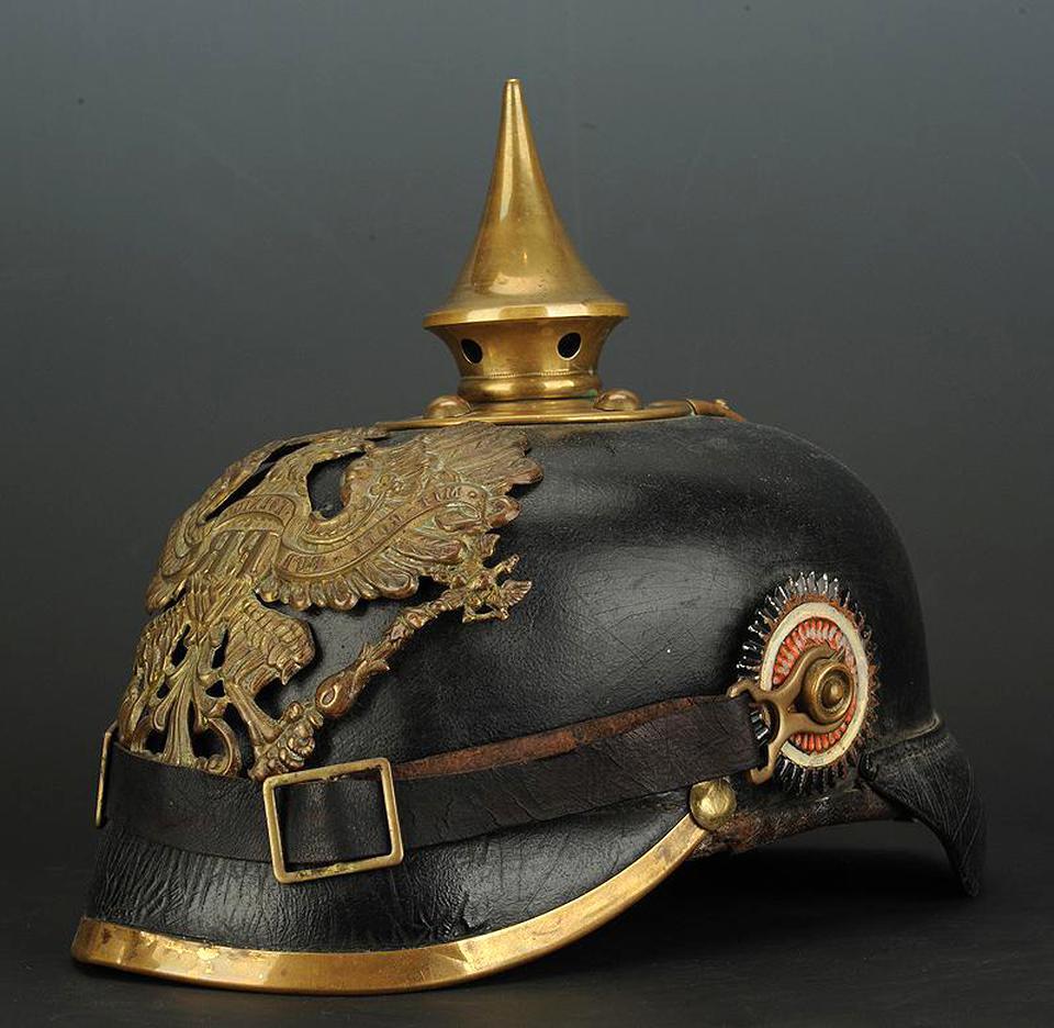 prussien casque pointe d'occasion