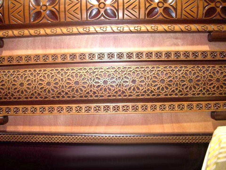 sedari marocain bois