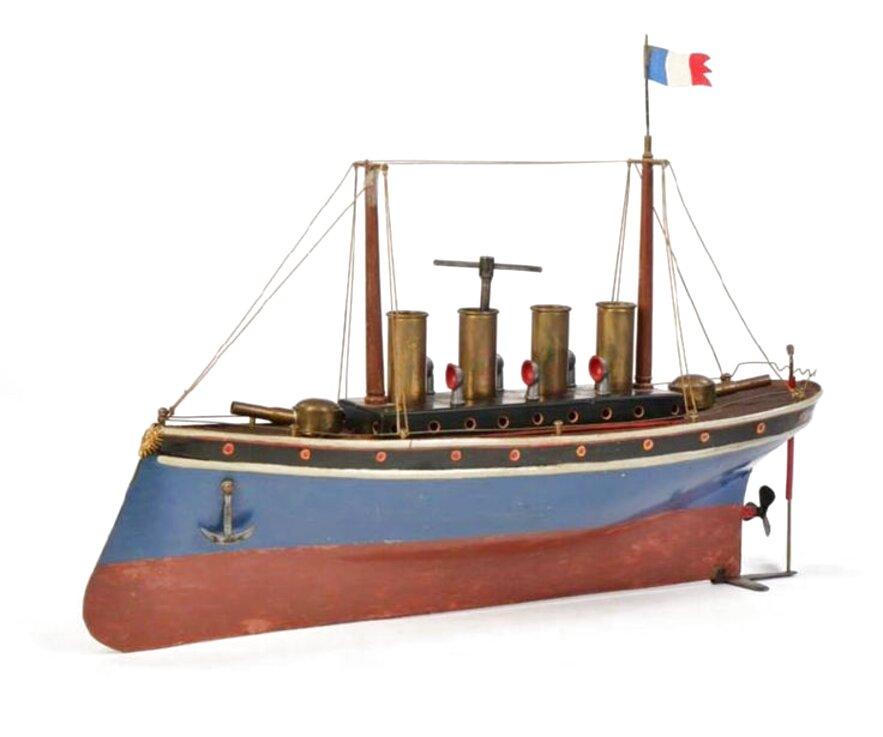 bateau jouet ancien d'occasion