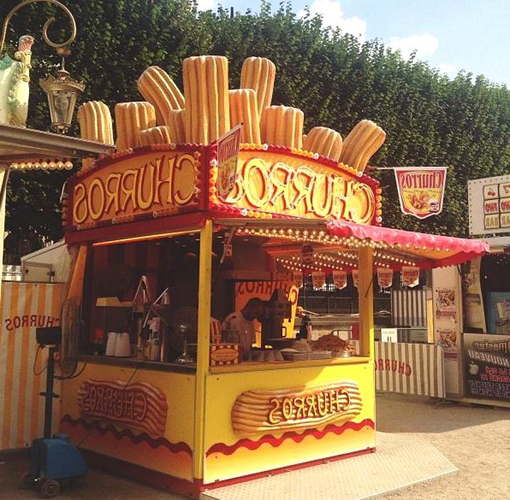 stand churros stand churros d'occasion