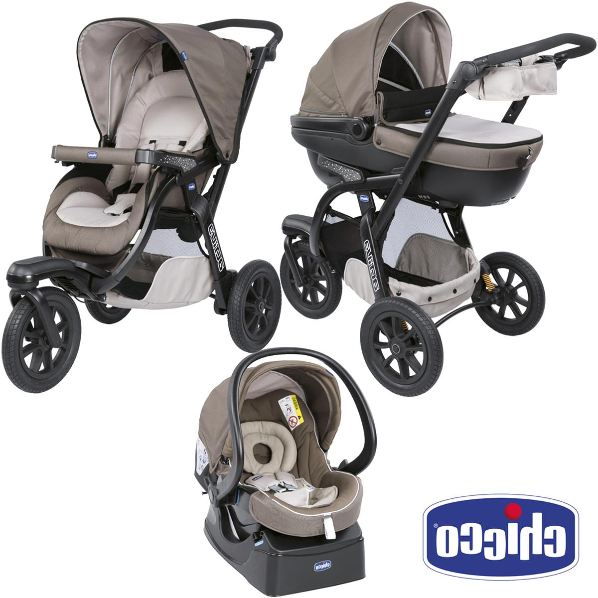 Poussette 3 Roues Chicco d'occasion