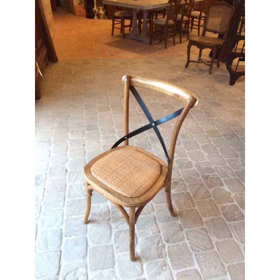 Chaise Bistrot Bois Fer D Occasion