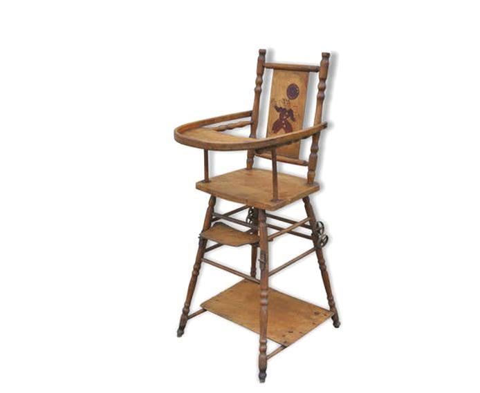 chaise haute poupee ancienne d'occasion