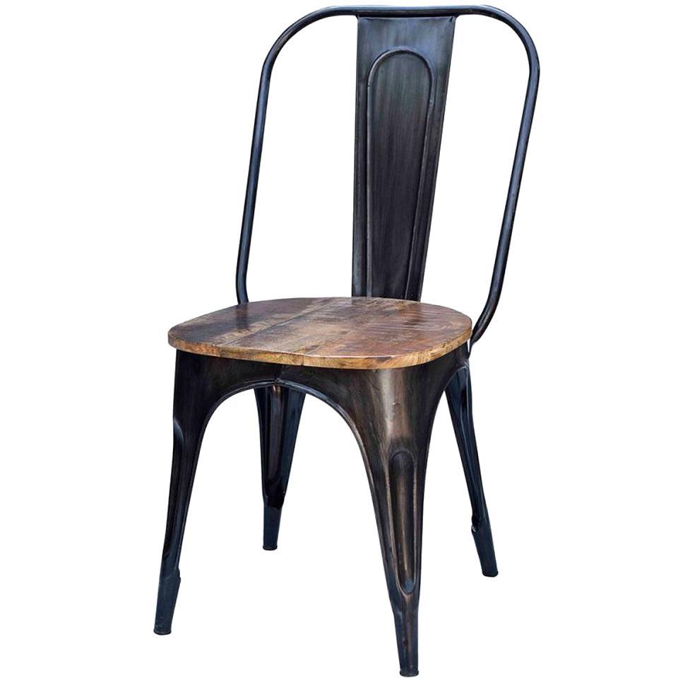 Chaise Bois Et Metal Industriel chaise metal industriel d'occasion
