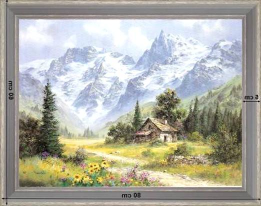 tableaux montagne d'occasion