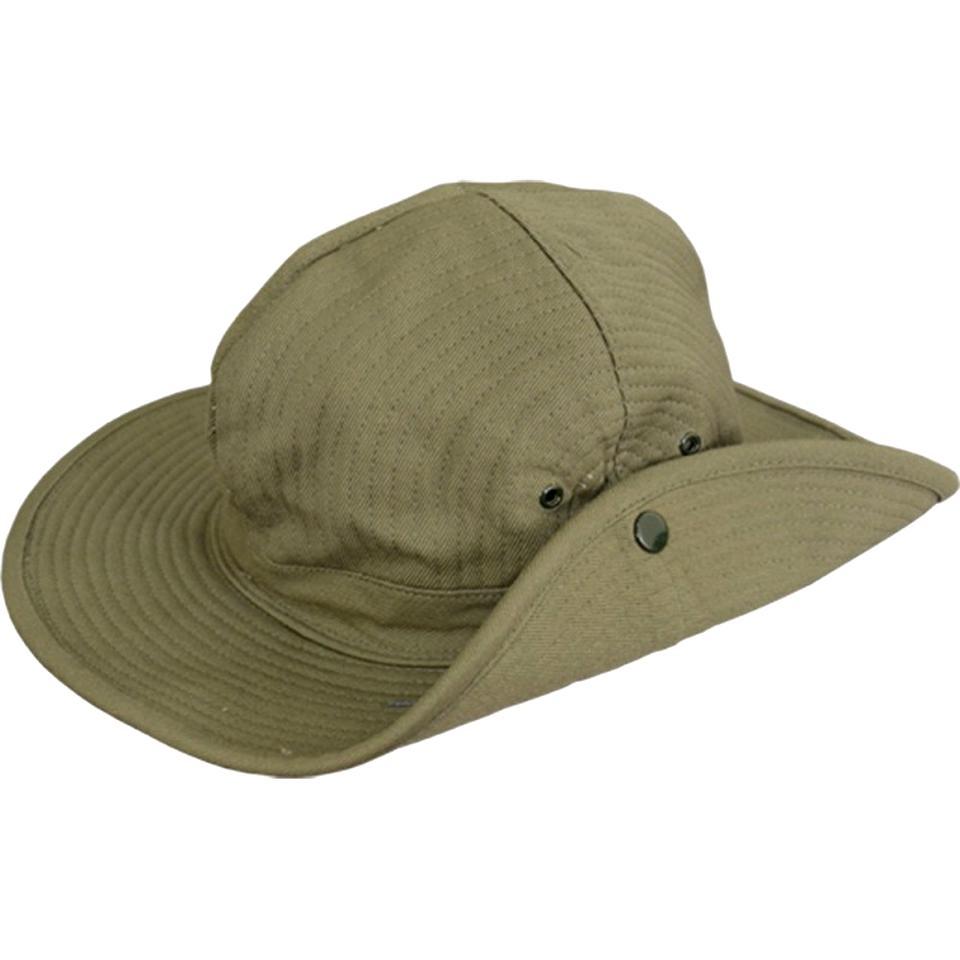Tian Fan Ni Chapeau P/êcheur Chapeau de Brousse Coton Unisexe Boonie Hat Chapeau /à Large Bord