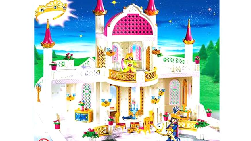 Playmobil Chateau De Princesse 4250 Pièce Déta