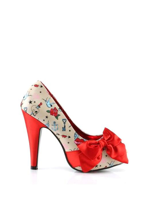 chaussure pin up d'occasion