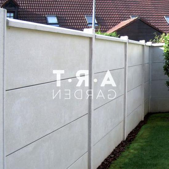 cloture dalle beton d'occasion