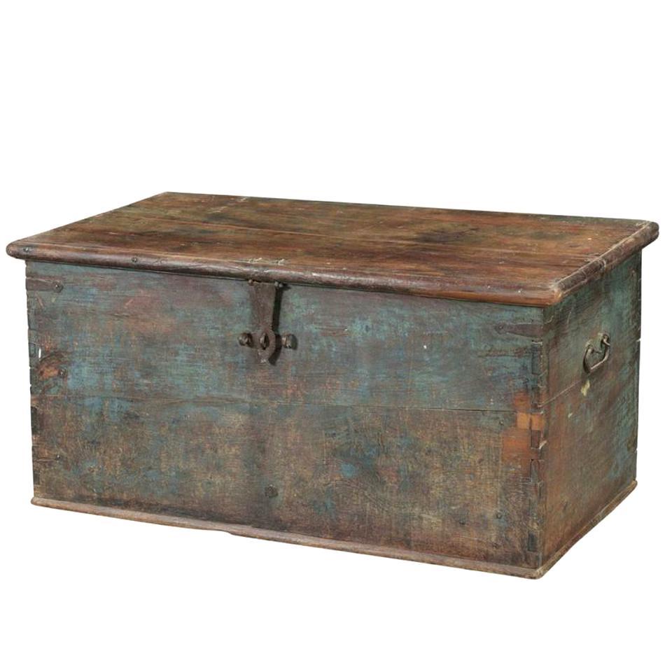 Malle Coffre En Bois Ancien coffre ancien bois coffre d'occasion