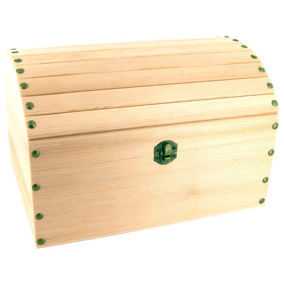 code promo 9d711 6f589 Grand coffre de rangement décoratif - Bois Bois Objets