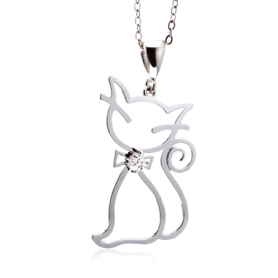 pendentif chat manège à bijoux