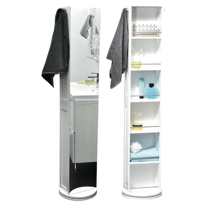 Meuble Pivotant Blanc Ikea Salle Bain D Occasion
