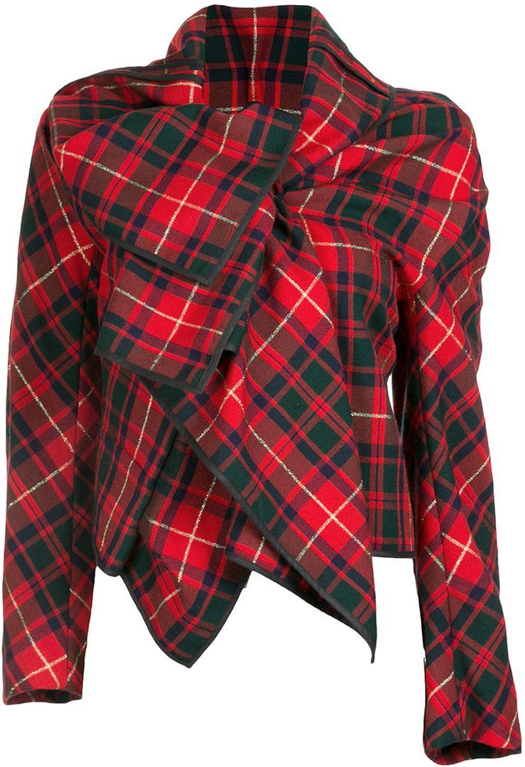 veste ecossaise d'occasion
