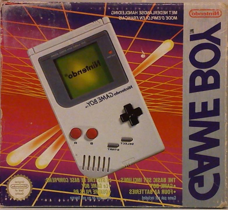 gameboy boite d'occasion