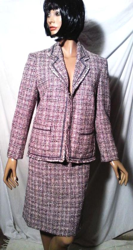 tailleur tweed d'occasion