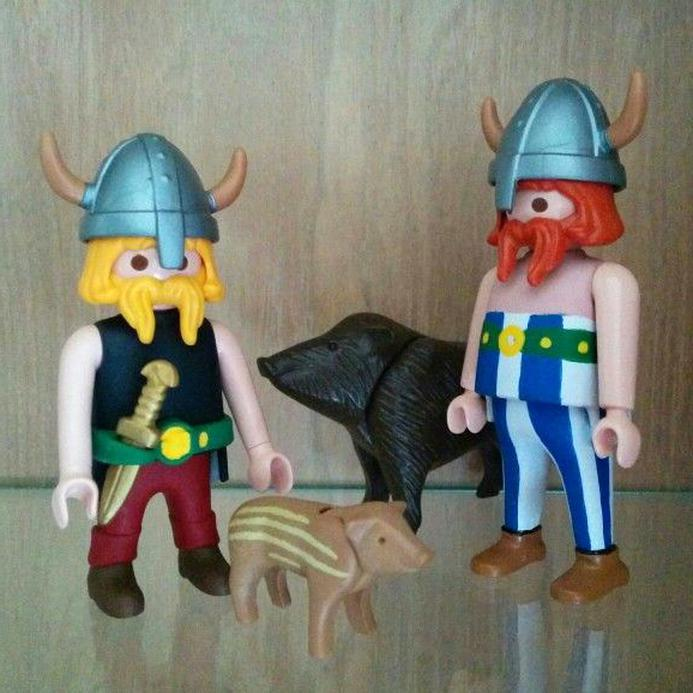 playmobil asterix obelix d'occasion