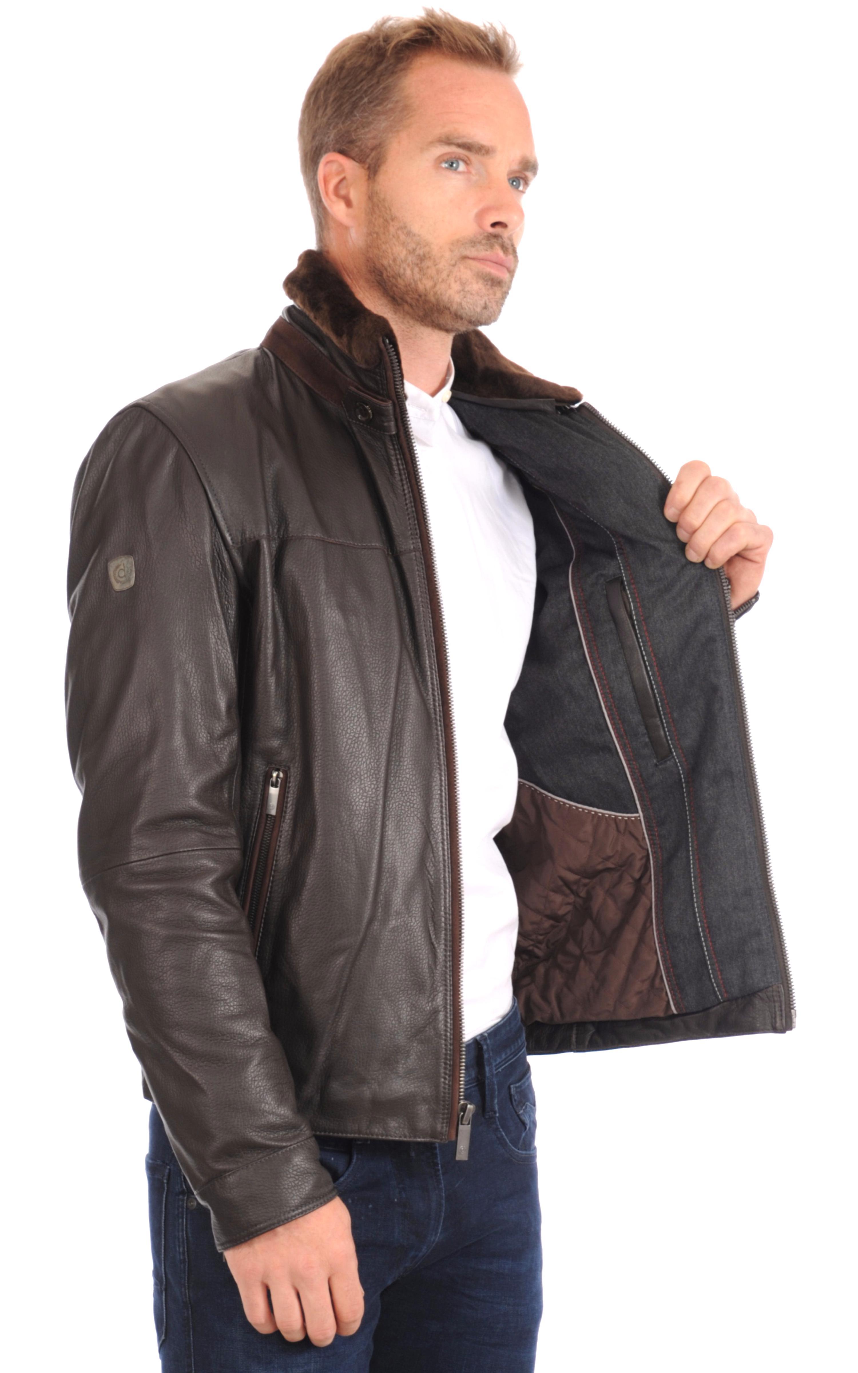veste blouson cuir homme d'occasion