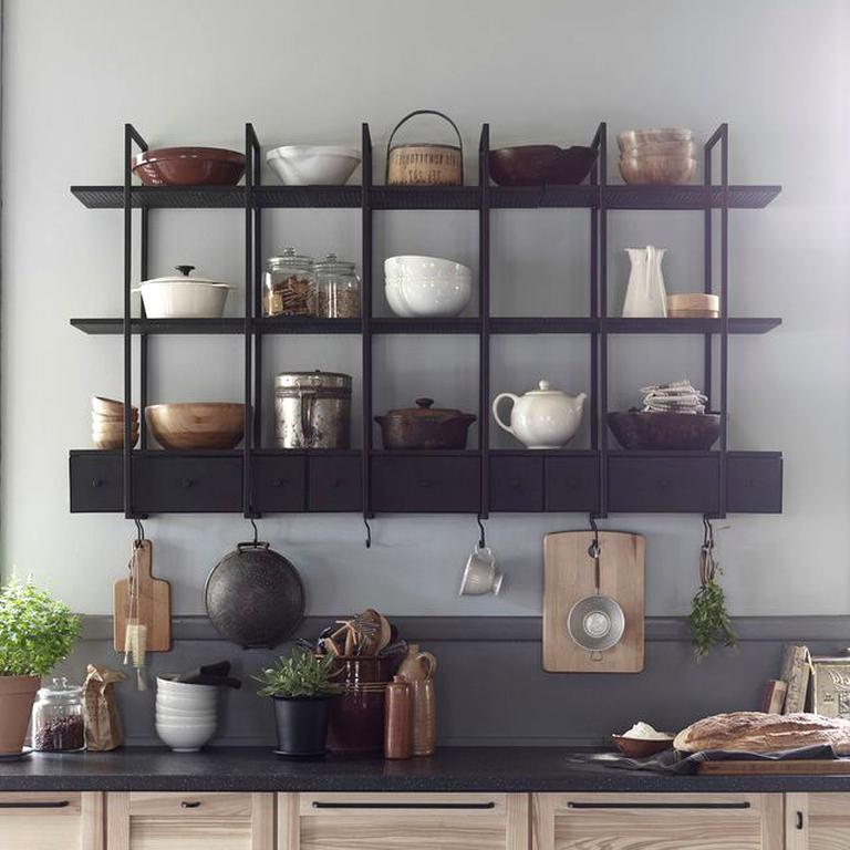Etagere Cuisine Ikea Inox