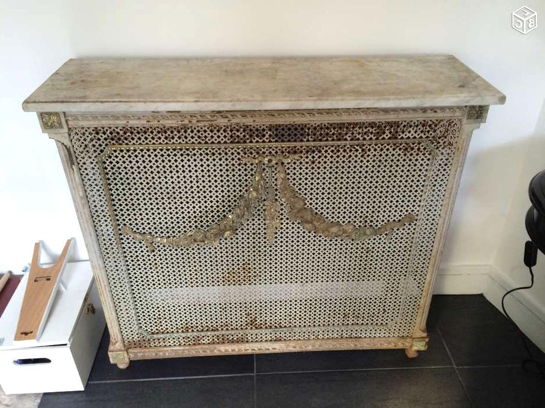 cache radiateur ancien d'occasion