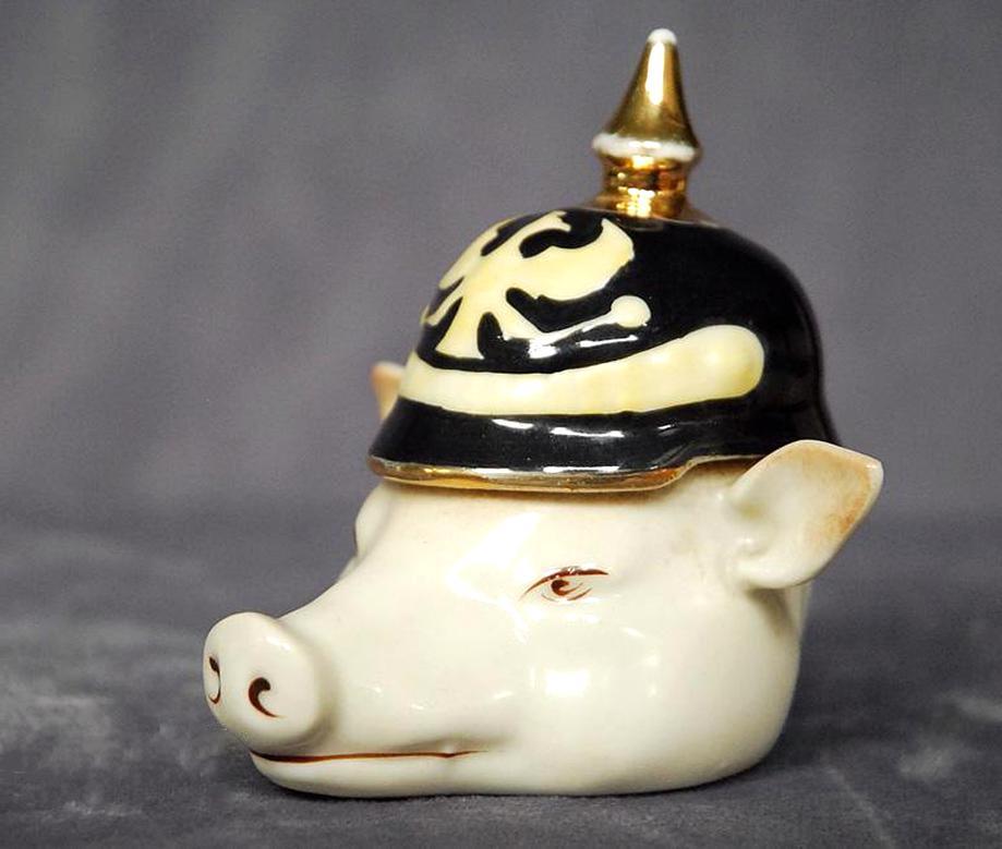 casque pointe cochon d'occasion