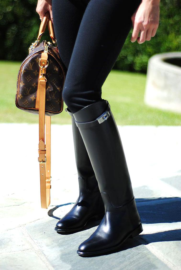Bottes Hermes Jumping d'occasion