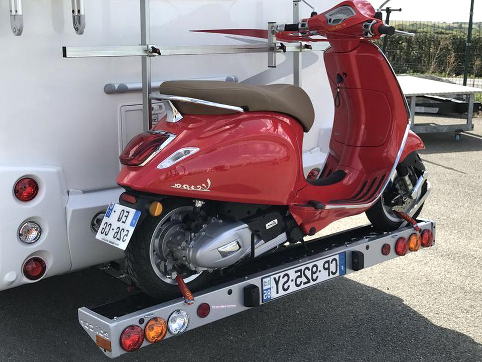 porte scooter camping car porte scooter d'occasion