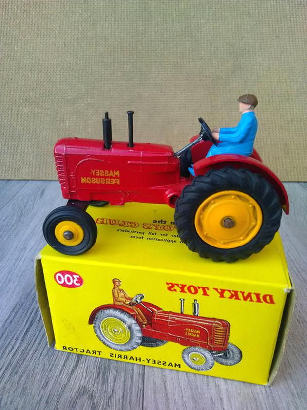 dinky toys tracteur massey d'occasion