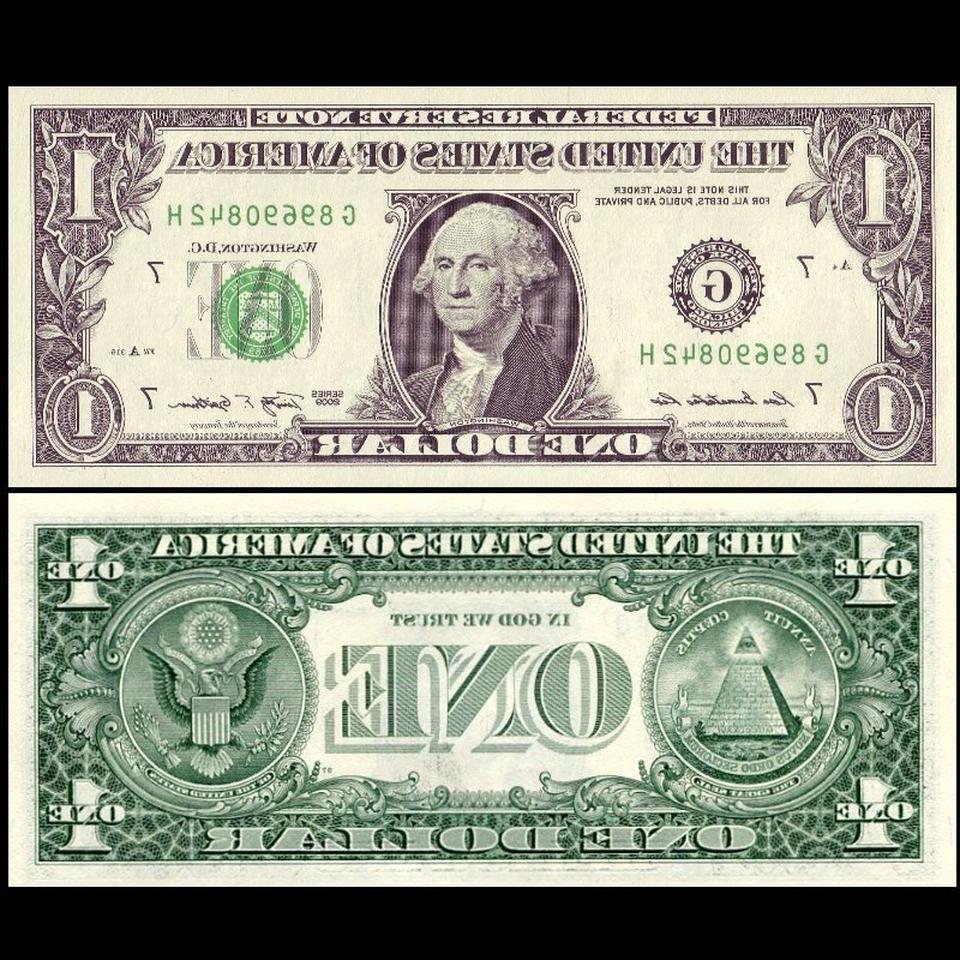billet 1 dollar d'occasion