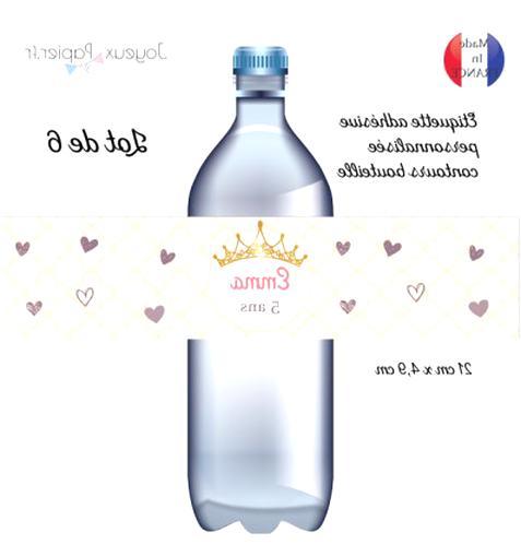 etiquette bouteille d'occasion