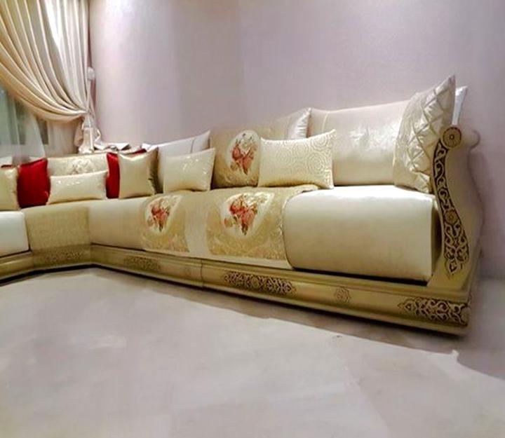 Salon Marocain Tissu Banquette Salon Tissu d\'occasion