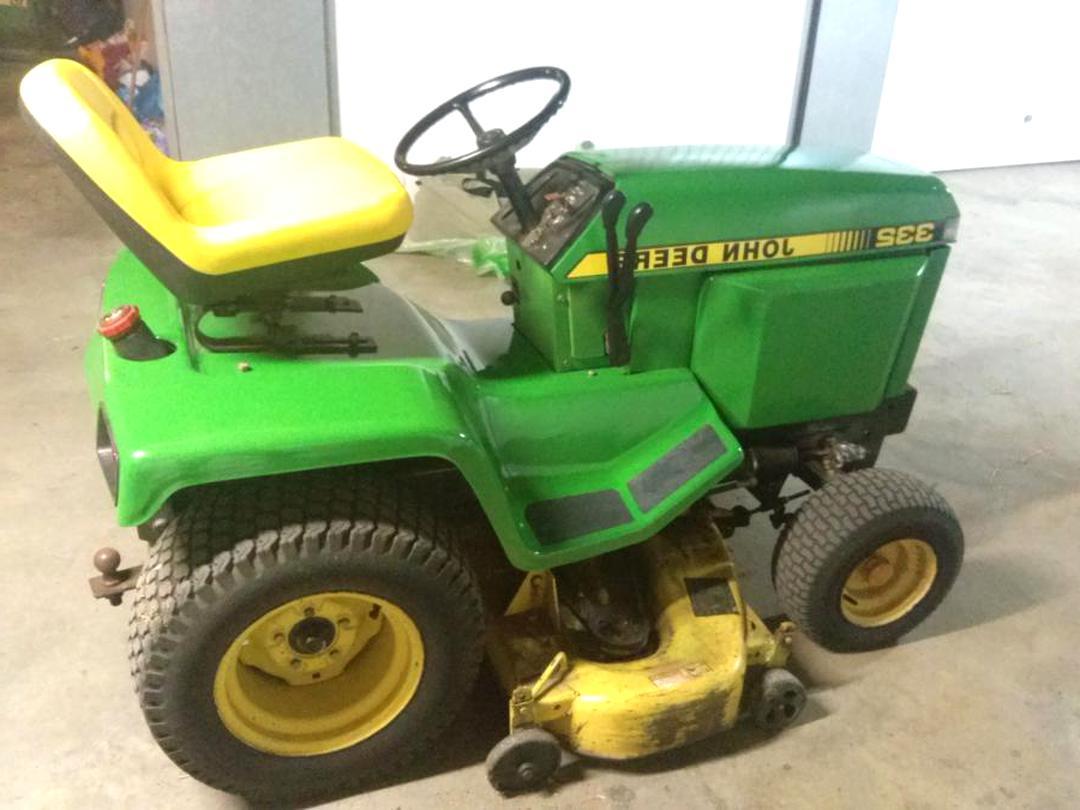 tracteur tondeuse john diesel d'occasion