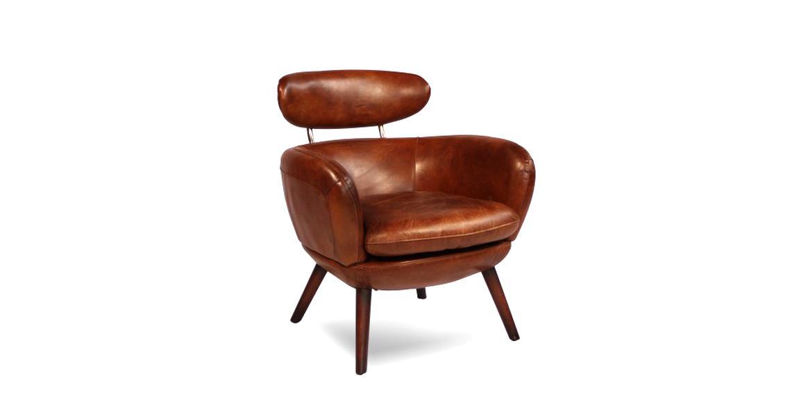 meilleur service fa1f9 26a24 fauteuil cuir vintage