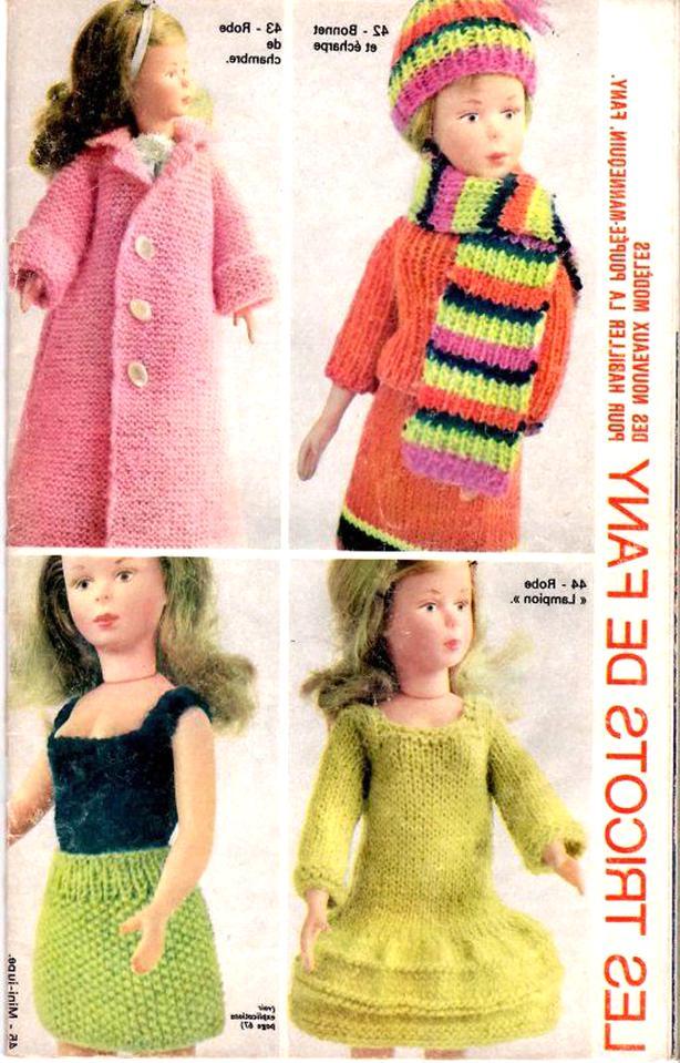 tricot poupee revue d'occasion