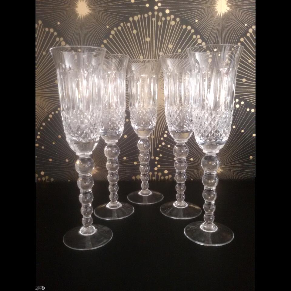 flute champagne cristal lorraine d'occasion