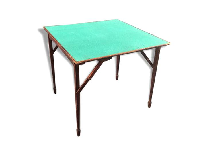 table bridge ancienne table d'occasion