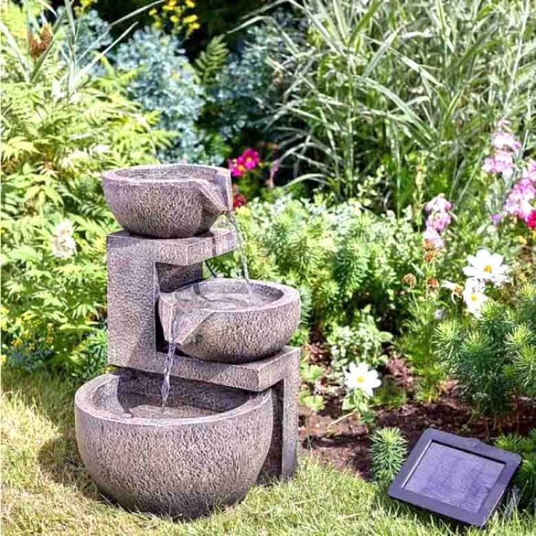 fontaine exterieur solaire d'occasion
