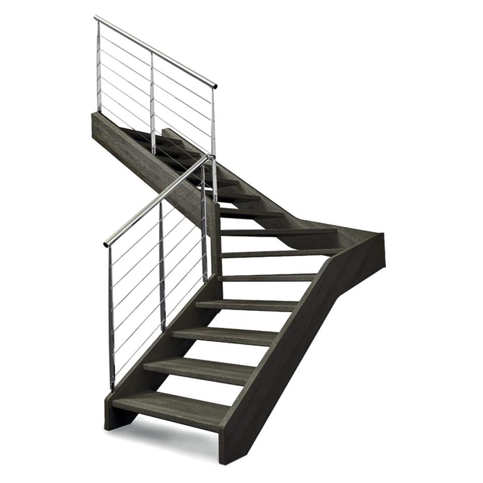 Escalier Modulaire Pas Cher escalier quart tournant d'occasion