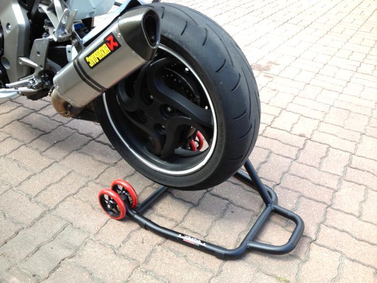 Yiwa Support de b/équille lat/éral Professionnel pour Honda CB1000R mod/èles de 2008 /à 15