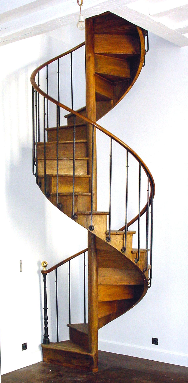 100 Fantastique Suggestions Escalier Colimaçon Bois Ancien