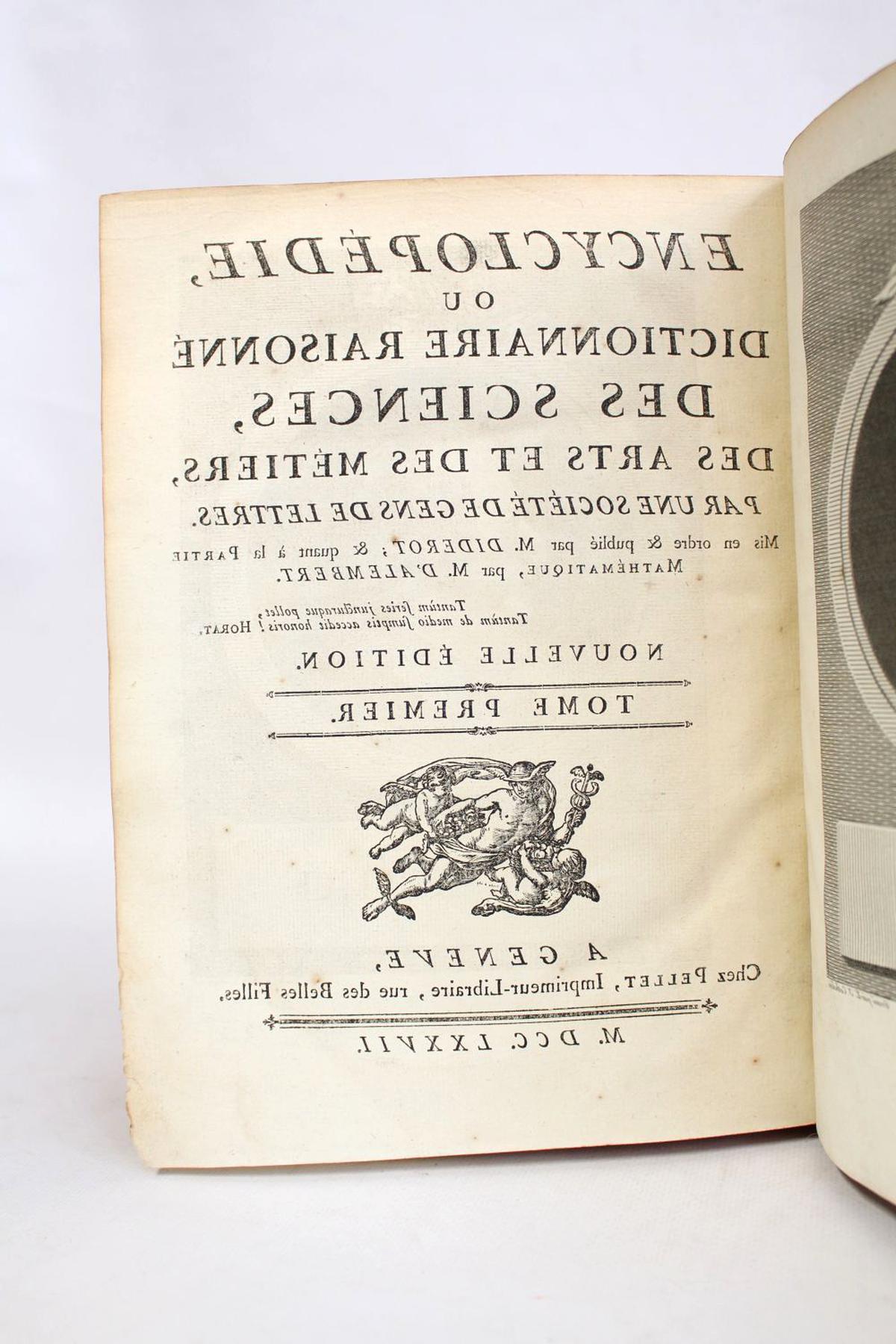 encyclopedie diderot pellet d'occasion