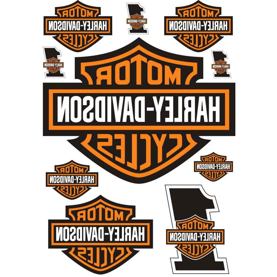 autocollant stickers harley davidson d'occasion