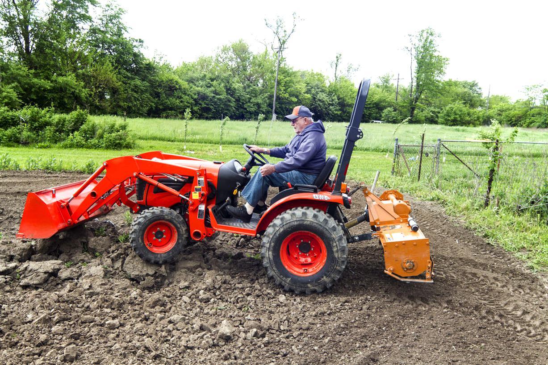 micro tracteur kubota jardinage d'occasion