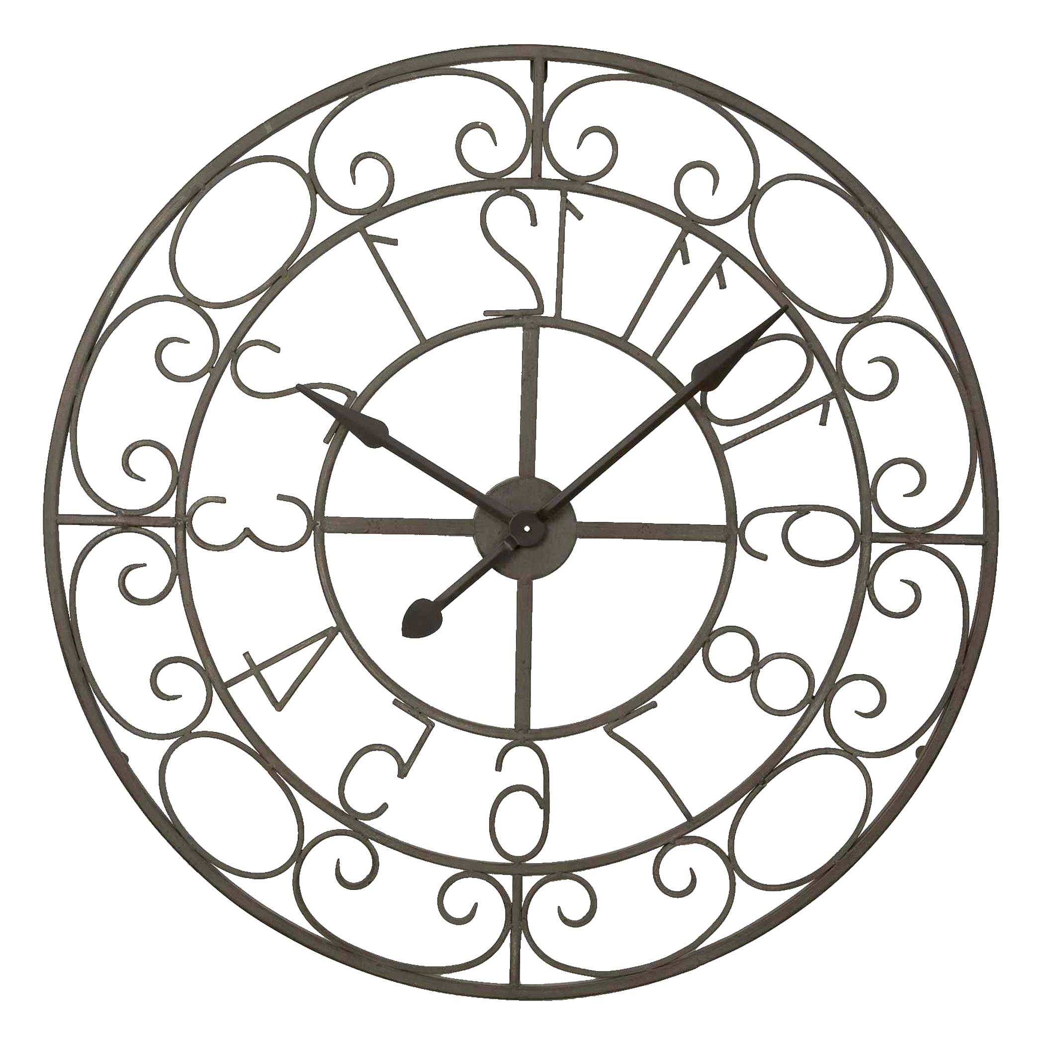 Grosse Horloge Fer Forgé horloge fer forge d'occasion | plus que 3 à -75%