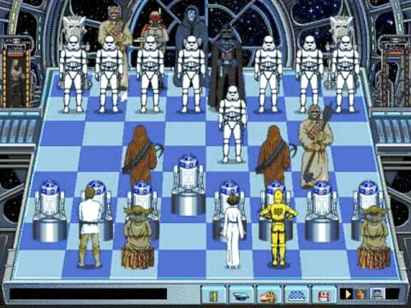 chess star wars d'occasion